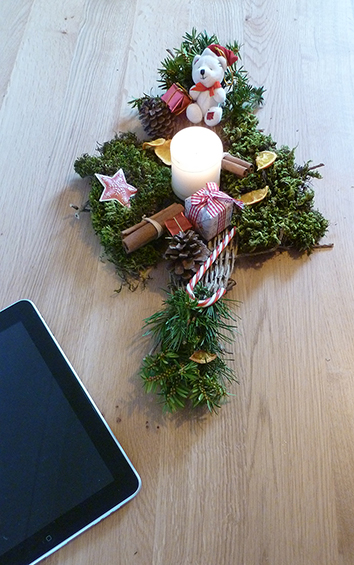 Xmas table decoration