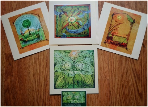 Greenwise Art cards