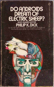 Do Androids Dream of Electric Sheep? old book cover