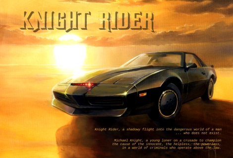 tribute image to knight rider