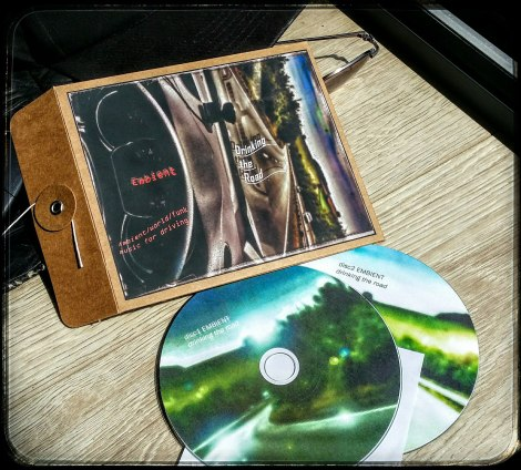 disc and cover jacket to 'Drinking the Road'