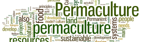 Permaculture word art