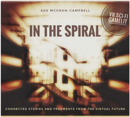 In the Spiral: VR Sci-Fi cover for short stories