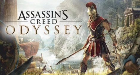 promo-shot for Assassin's Creed 'Odyssey'