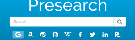 Logo of Presearch project