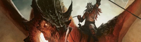 image of fantasy art dragonrider