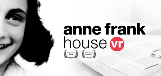 Anne Frank promo pic for VR experience