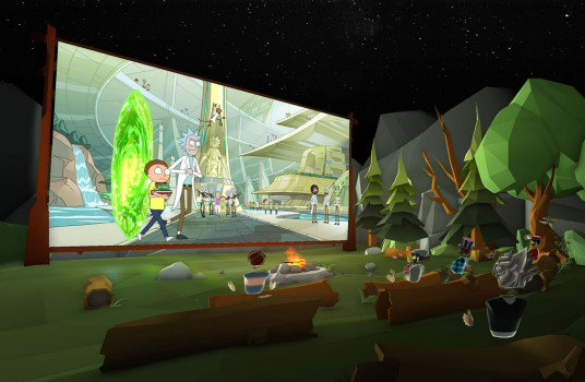 image from BIgscreen Beta VR app
