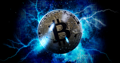 image of Bitcoin lightning