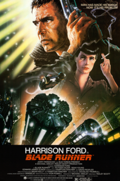 original cult Blade Runner movie poster