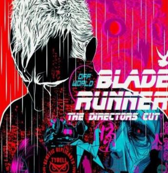 Retro Blade Runner poster image