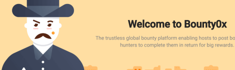 welcome to Bounty0x image