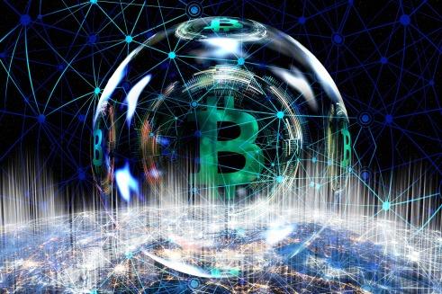 Bitcoin bubble (Pixabay)