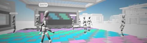 screenshot from Cryptovoxels